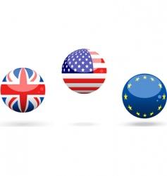 bingo lottery balls vector image vector image