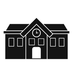 Chapel icon simple style vector image