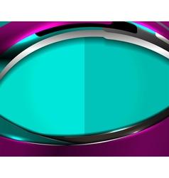 Modern blue violet template background vector