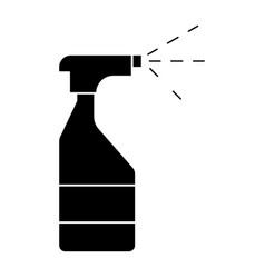 water spray bottle icon vector image