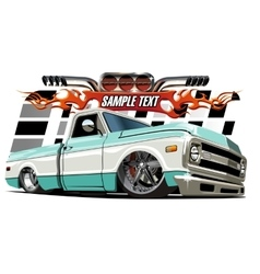 Cartoon lowrider vector