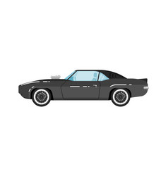 Classic muscle car isolated vector