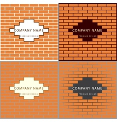Construction and repair real estate company logo vector
