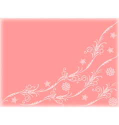 floral-background2 vector image vector image