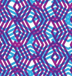 Geometric symmetric lined seamless pattern vector
