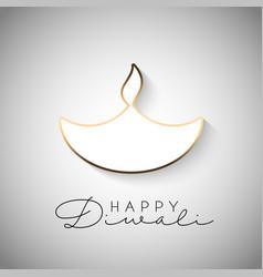 minimilistic diwali background 2109 vector image