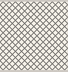 Grid geometric seamless pattern vector
