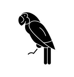 parrot icon sign on isolate vector image