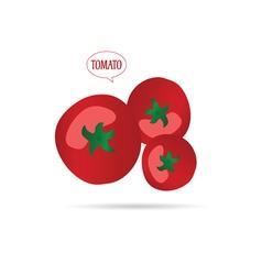 Tomato cartoon vector