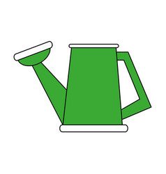 Watering can gardening tool icon image vector