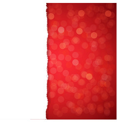 Red glitter background vector