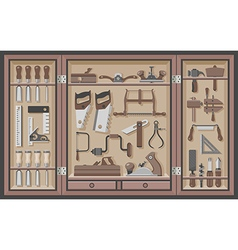 Tool cabinet vector