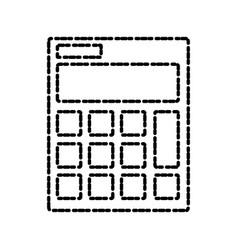 Calculator isolated symbol vector