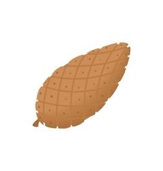 Fir cone icon cartoon style vector image vector image