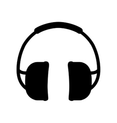 Isolated construction earmuffs vector