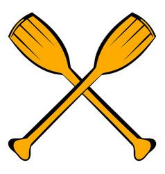 Paddle icon icon cartoon vector