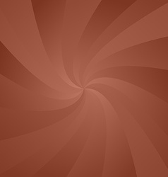 Brown whirl pattern background vector
