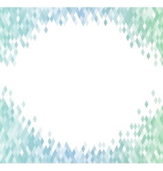 Abstract background identical diamonds with vector image vector image