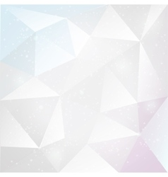 Abstract white background with triangles vector image vector image