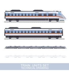 Color train vector