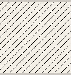 seamless diagonal lines pattern vector image