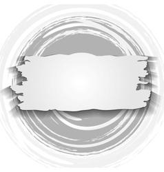 Vintage circle and banner grunge design vector