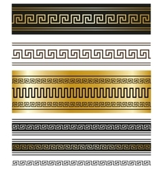 Greek ornaments for Your projects vector image