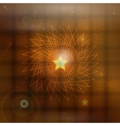 Abstract mystical background vector image