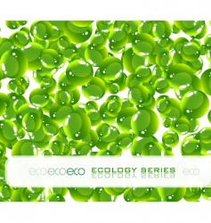 ecology series vector image vector image