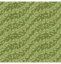 Olive leaf seamless texture vector image