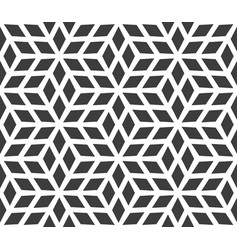 seamless geometric pattern made up of diamonds vector image vector image