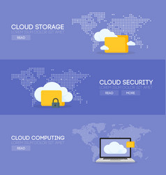 Cloud coputing storage service and security vector