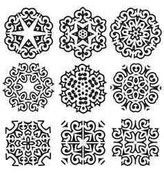 Calligraphic decorative elements vector