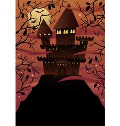 Spooky Castles vector image