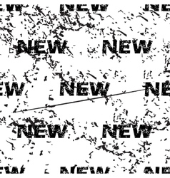 New pattern grunge monochrome vector