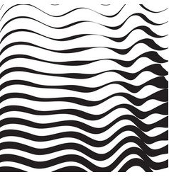 Halftone pattern background striped waves lines vector