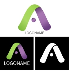 Letter A logo for Business vector image vector image