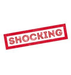 Shocking rubber stamp vector