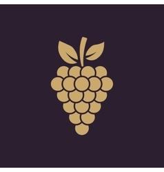 The grapes icon grape grapes wine symbol ui vector