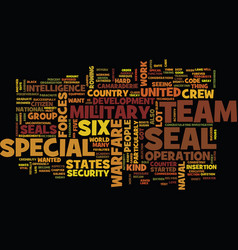 The military us team six text background word vector