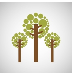 Tree forest nature vector