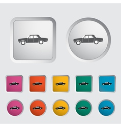 Car icon 2 vector image
