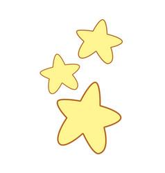 cuite light stars image vector image