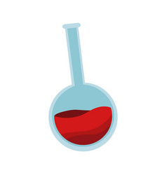 flask bottle icon vector image
