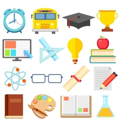 Flat Education Icon vector image