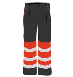 Worker pants vector