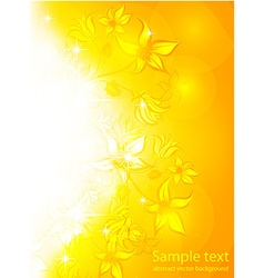 Bright summer vector