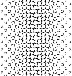 Abstract black and white square pattern background vector