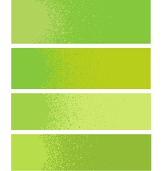 spray paint gradient detail in green yellow vector image