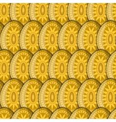 Egg sun pattern vector